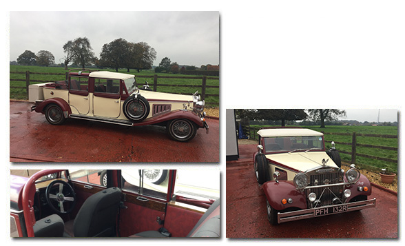 Beauford Tourer for hire